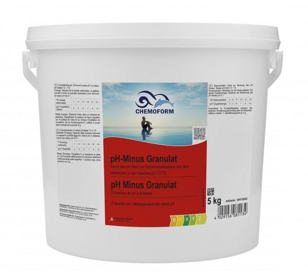Chemoform pH-Minus Granulat 5kg