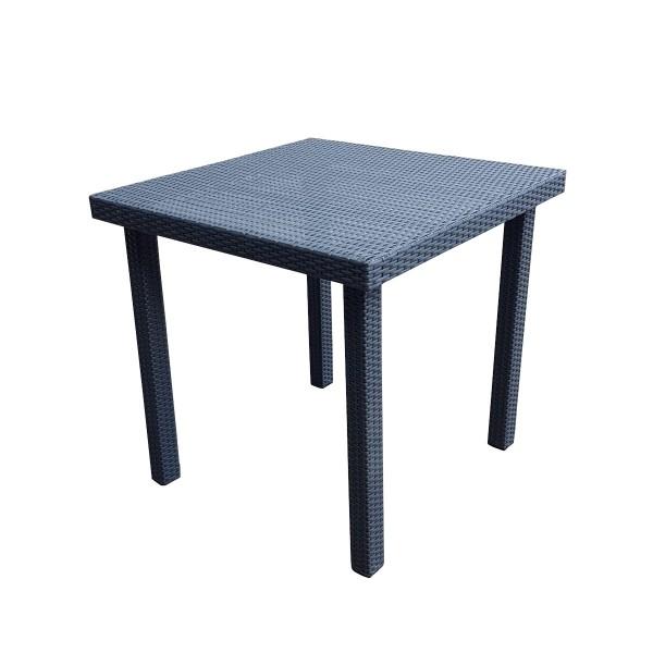 Rattantisch Poly Rattan Tisch Gartentisch Esstisch
