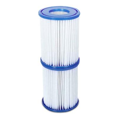 Rewisa Pool Filterkartusche 8,0 x 9,0cm Doppelpack