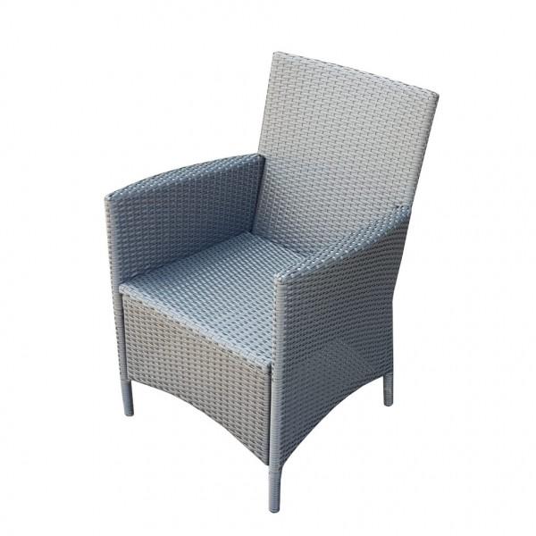 Rattansessel Poly Rattan Gartenstuhl Sessel Stuhl