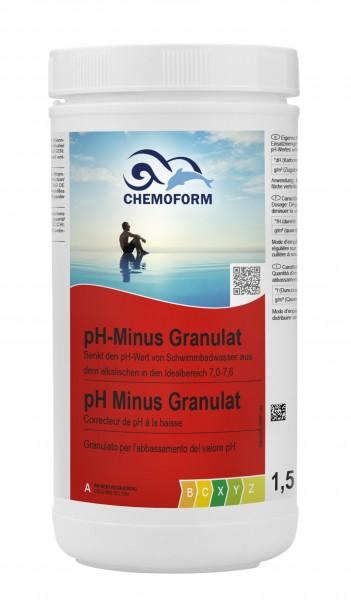 Chemoform pH-Minus Granulat 1,5kg