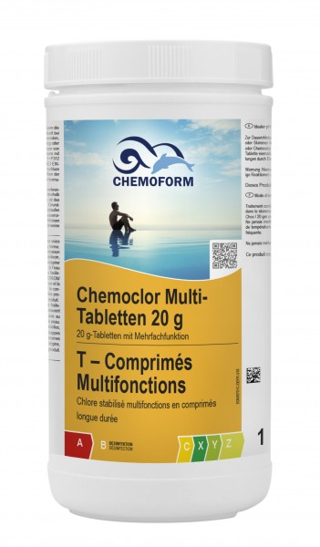 Chemoform Chemoclor Multi-Tabletten 20g 1kg