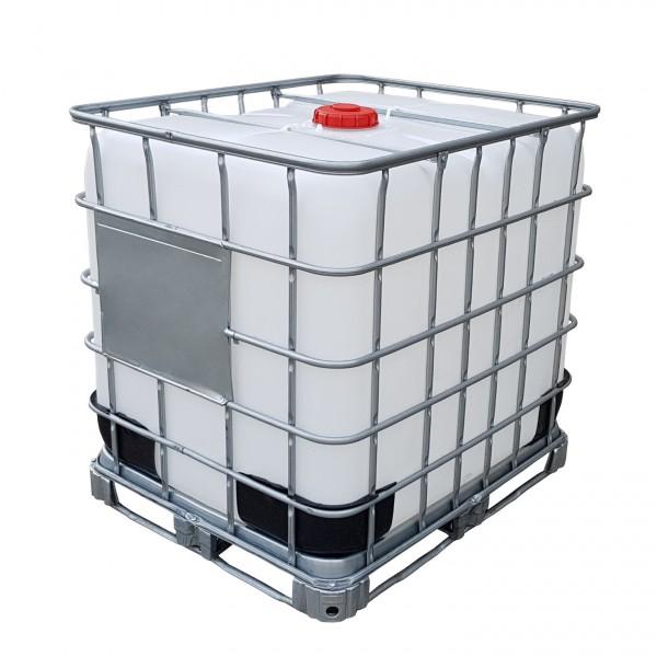1000 l IBC Container Wassertank auf Stahlpalette NEUWERTIG
