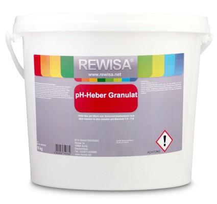 Rewisa pH-Heber Granulat 5kg