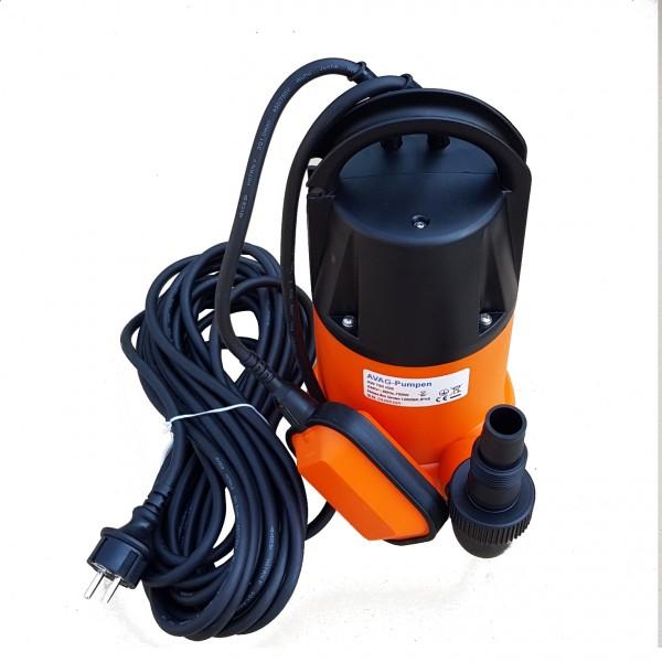 AVAG Tauchpumpe Schmutzwasser Pumpe AW 750 IGS