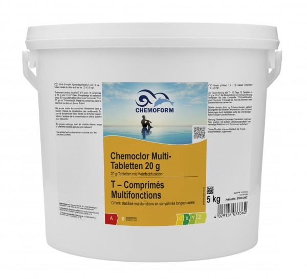 Chemoform Chemoclor Multi-Tabletten 20g 5kg