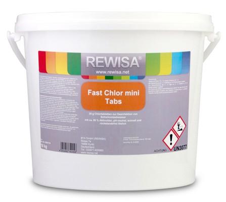 Rewisa Fast Chlor Mini Tabs 20g 10kg