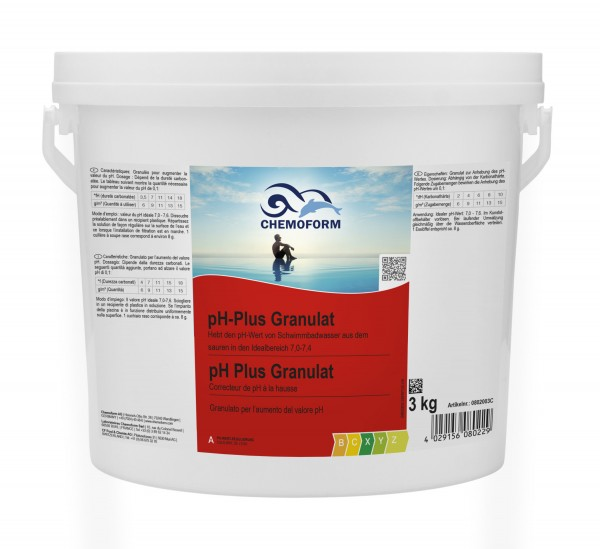 Chemoform pH-Plus Granulat 3kg